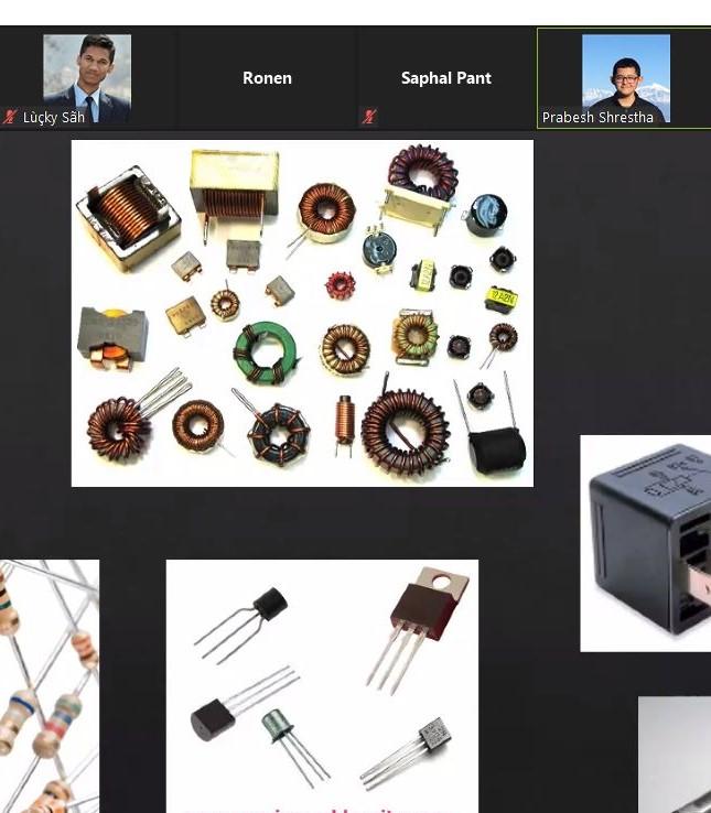 Interactive Session on Basics of Electronics and Robotics