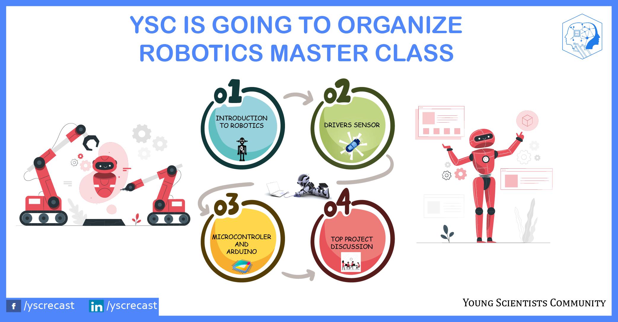 Master Class in Robotics