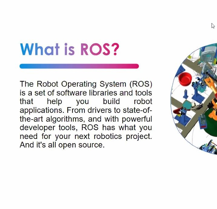 Interactive Session on Robot Operating System(ROS) and Webots